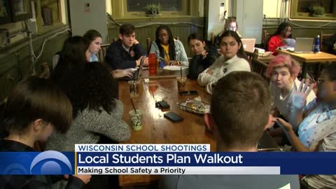 Local students plan a walkout to stand up against gun violence...